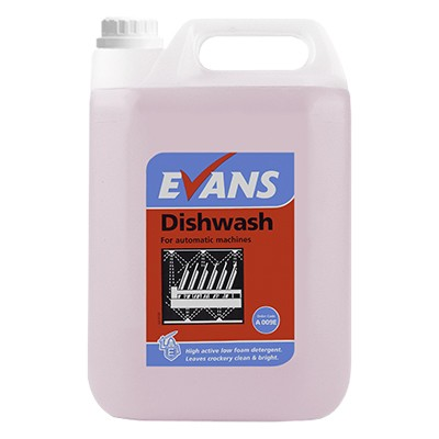 Dish Wash 5 Litre Dishwasher Detergent