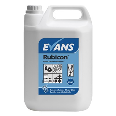 RUBICON - Oil and Grease Remover and Heavy Duty Cleaner 5Ltr