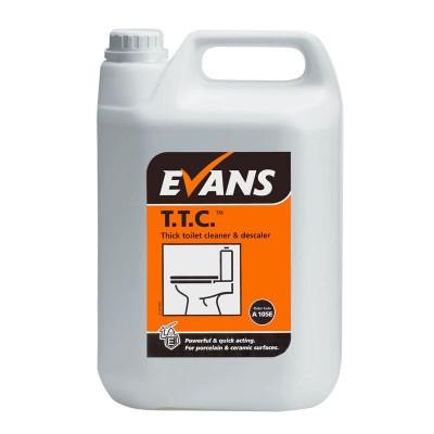 T.T.C - H/ Duty Hydrochloric Acid Toilet Descaler for Porcelain  1Ltr