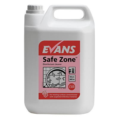 Safe Zone Disinfectant Cleaner 5 Litre Concentrate