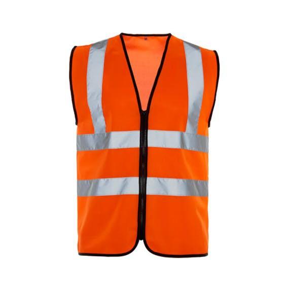 Orange Executive Waistcoats EN 471 Class 2 Small