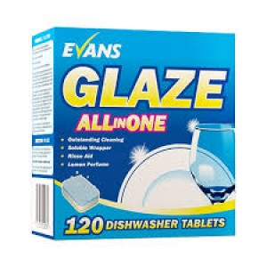 Glaze All In 1 Dishwasher Tablets Box 120