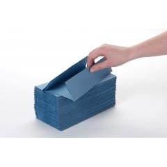 C Fold Towels Soft Blue Single Ply