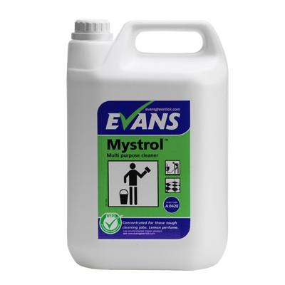 MYSTROL - Tough All Purpose Cleaner, Lemon 5Ltr