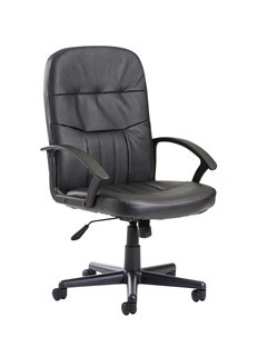 Cavalier Leather Faced Managers Chair
