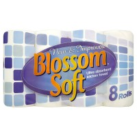 Image for Blossom Soft Kitchen Roll Pk 8