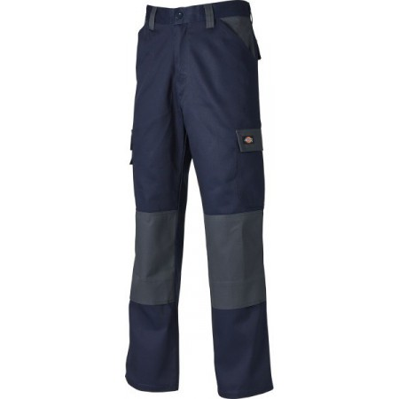 Dickies Everyday Trousers - Navy/Grey - Size 38
