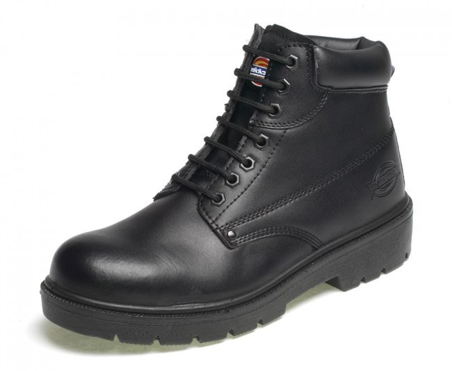 Dickies Super Safety Antrim Boot - Black - Size 8