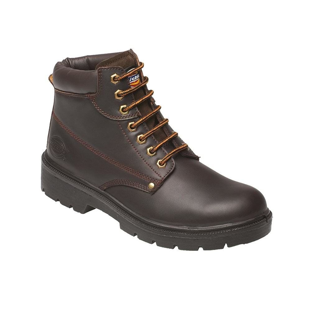 Dickies Super Safety Antrim Boot - Brown - Size 6