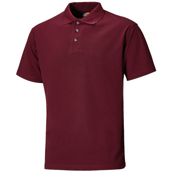 Dickies Polo Shirt - Burgundy - Small