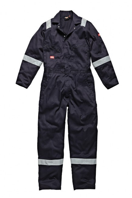 Dickies Cotton Coverall - Navy Blue - Small