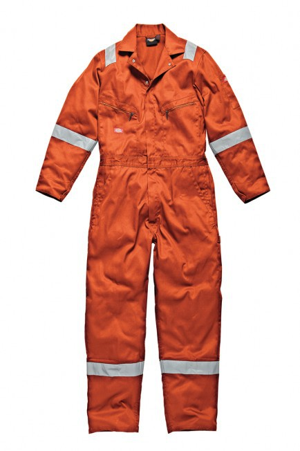 Dickies Cotton Coverall - Orange - Medium