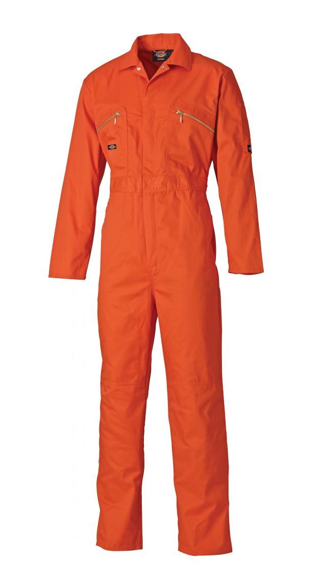 Dickies Redhawk Coverall - Orange - 42 R