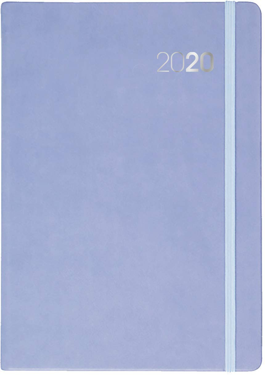 Collins Legacy A5 Day to Page 2020 Diary Lilac
