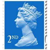 50 2ND CLASS LARGE LETTER STAMPS