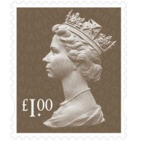 Image for 75 X £1 Royal Mail Stamp Sheet