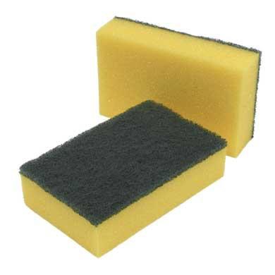 Foam Backed Scouring Pads