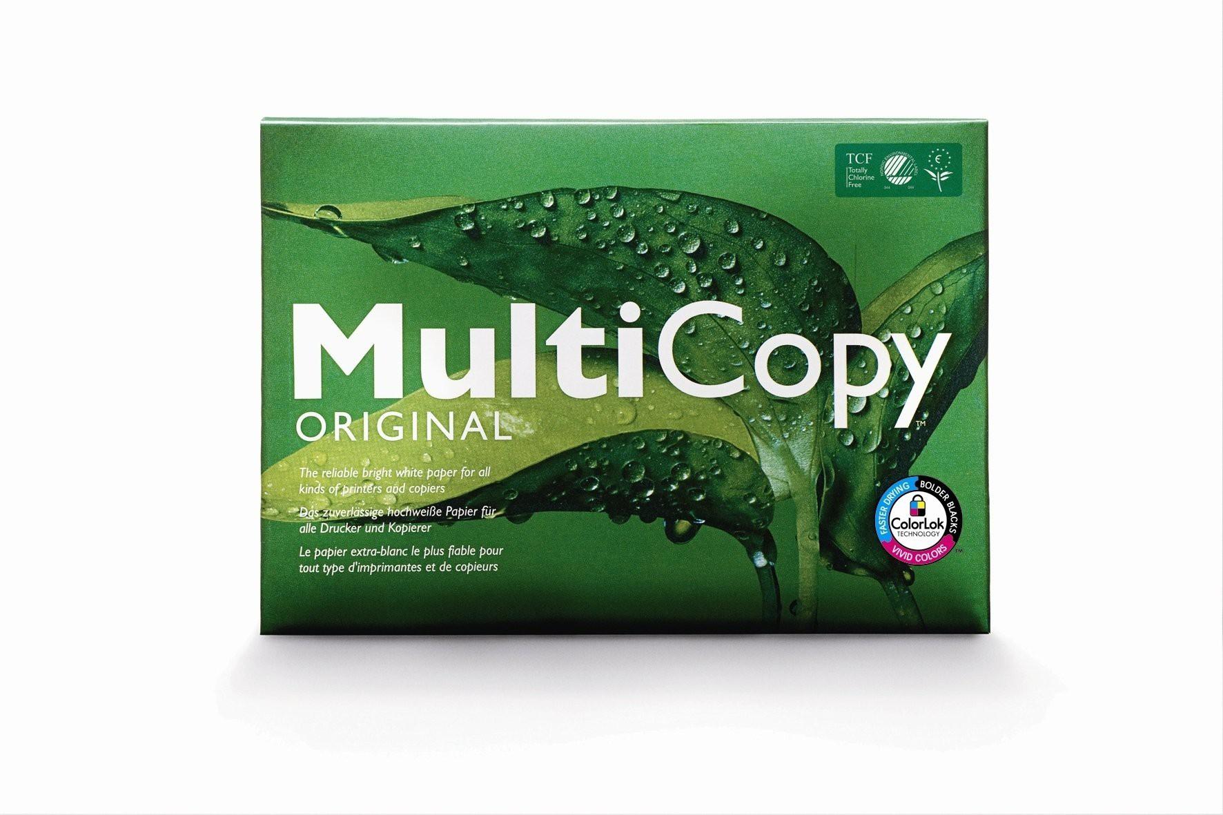A4 Multicopy Premium laser 160gsm white pack 250