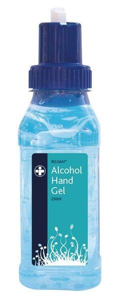 Relisan Alcohol Hand Sanitiser Gel 250ml