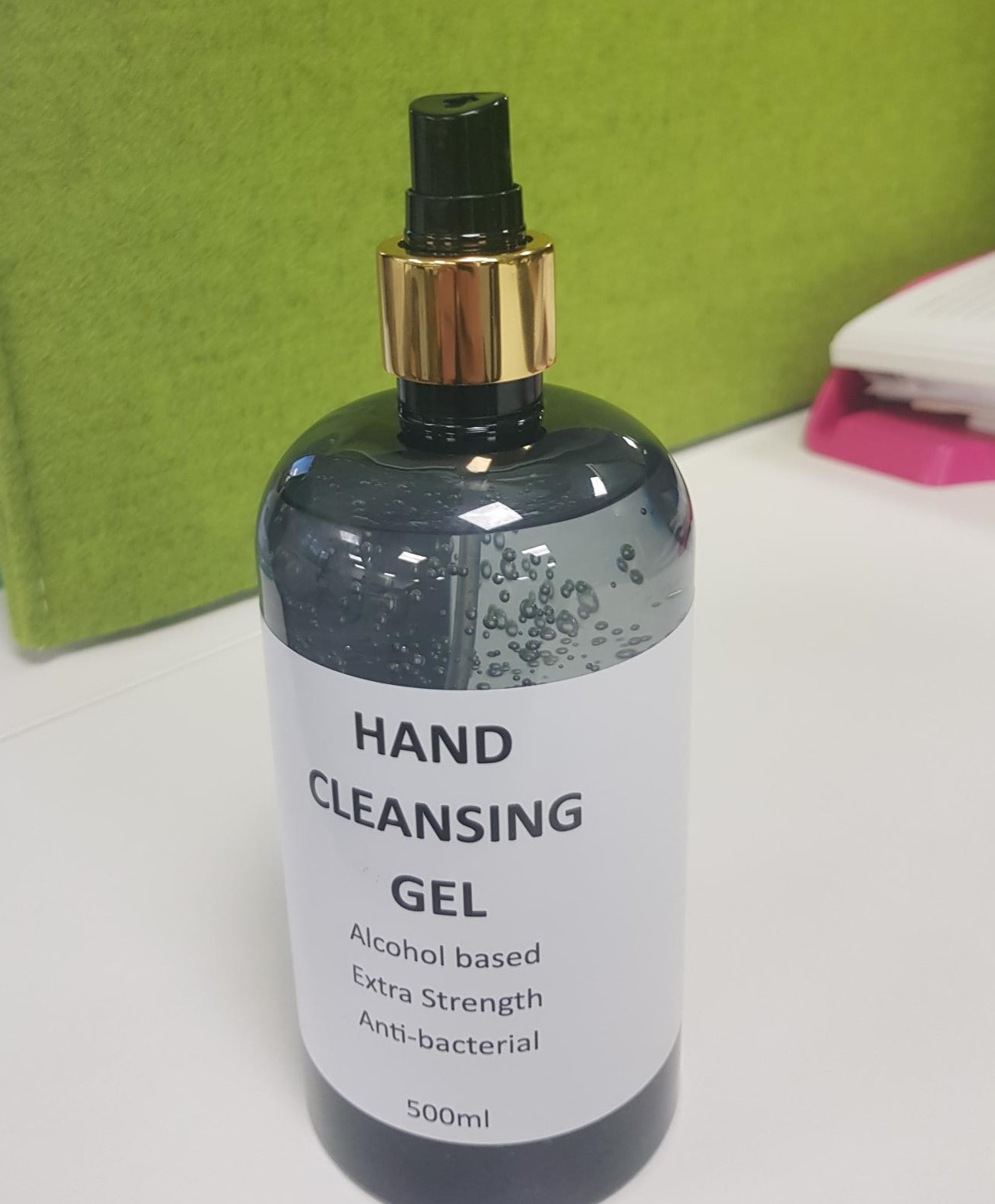 500ml Spray Top 70% Alcohol Hand Sanitiser- WHILE STOCKS LAST