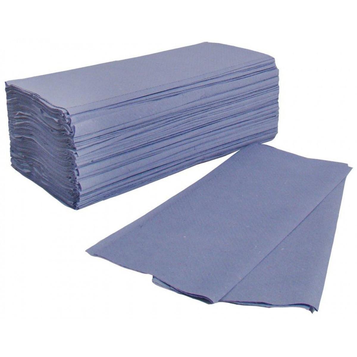 C-Fold Towel Blue Hand Towel Pk2600
