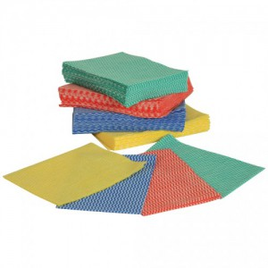 Disposable Wipes Yellow 36 x 50cm pk50