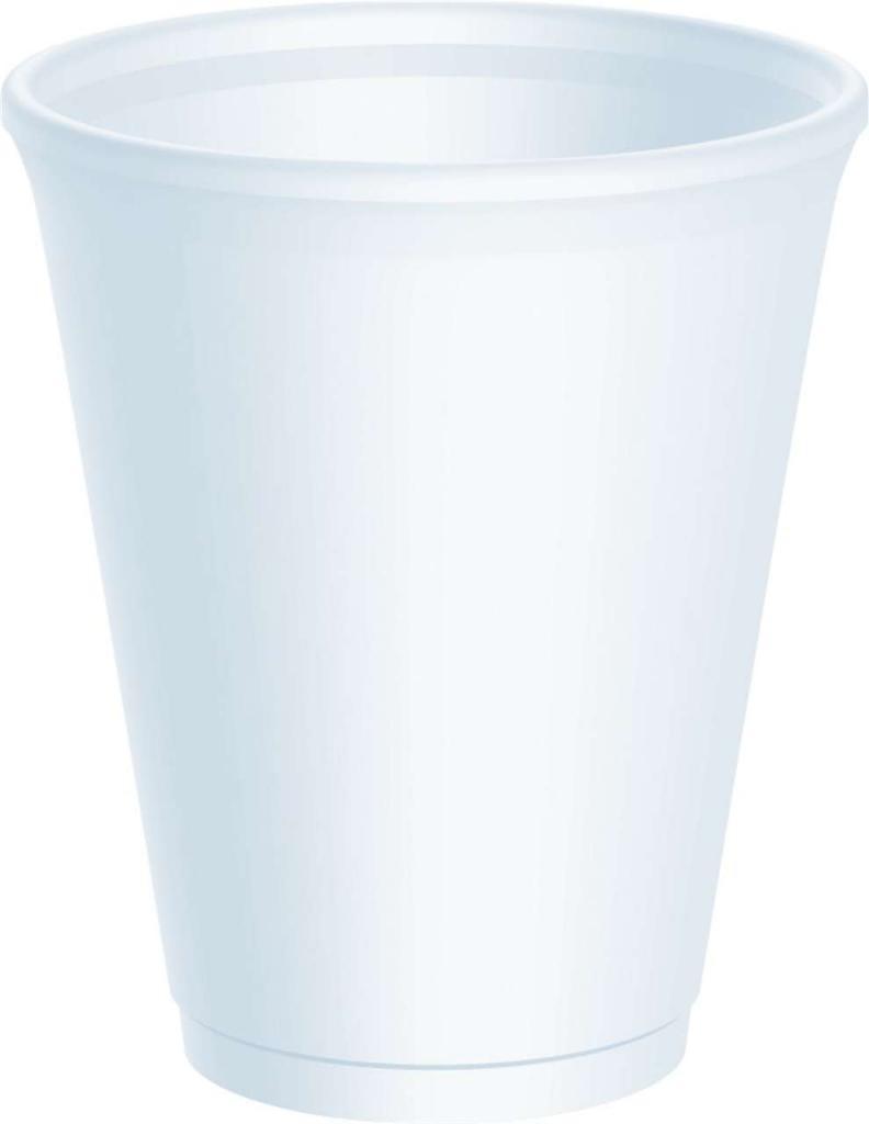 Polystryrene 7oz Cups & Lids Pk100
