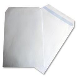 100gsm C5 Plain Fastseal Envelope pk500