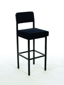 Metal High Visitors Chair with back