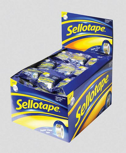 SELLOTAPE 18MM X 10M SUPERCLEAR TAPE