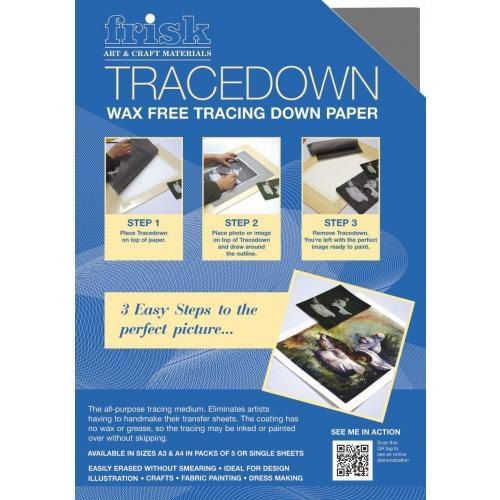 TRACEDOWN A4 GRAPHITE PACK OF 5
