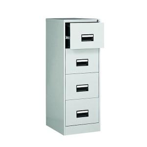 Image for 4dr Filing Cabinet Grey
