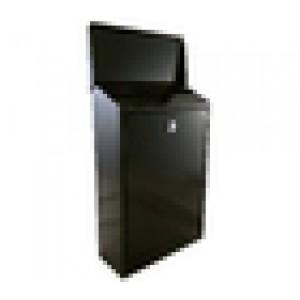 Image for Cityline Slaney Steel Letter Box Black
