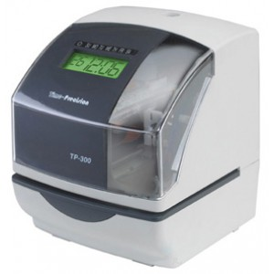 Image for Time-Precision TP 300 Multi Functional Time Clock / Job clock / Warranty Clock / Time Stamp