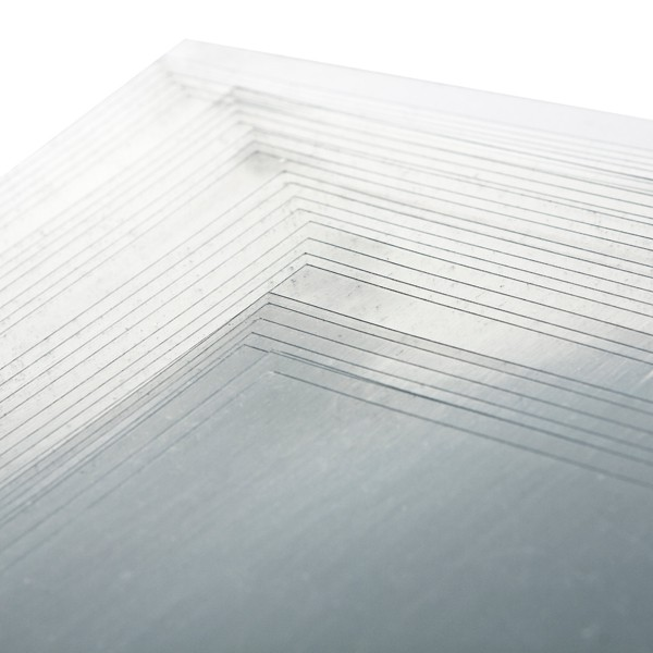 Extra Wide Micro Gloss Clear PVC 220gsm 297 x 224mm Binding Covers Pk100