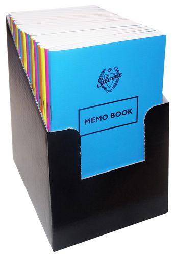 Silvine Bright Memo Book CDU 042PS