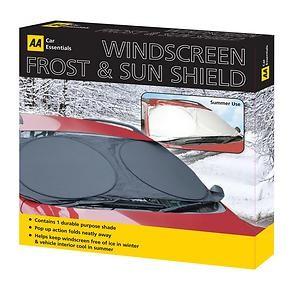 Winter Essentials - AA Windscreen Frost & Sun Shield