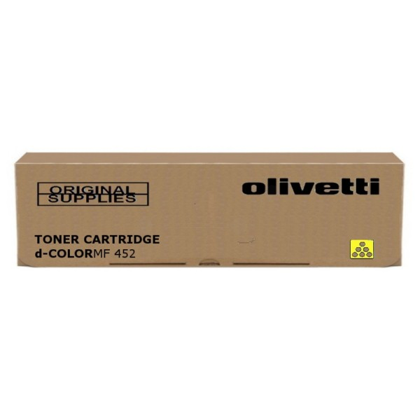 Olivetti MF452 Original Toner Cartridge Yellow 27