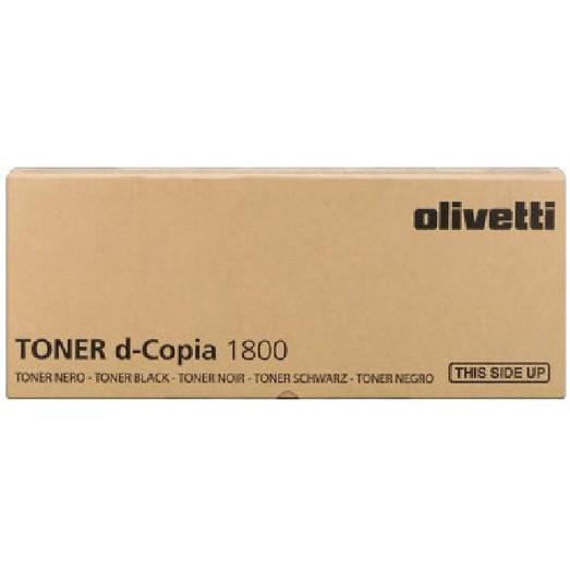 Olivetti  Original Toner Cartridge Black 1800 MF-KX