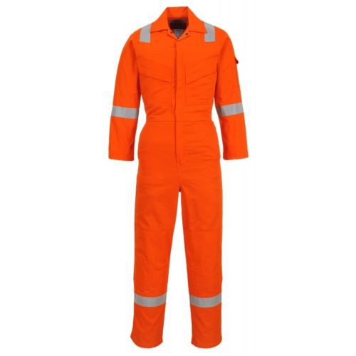 Portwest FR28 flame resistant light weight antistatic coverall size Large