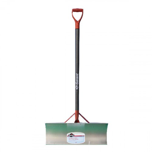Rugged, hard wearing aluminium bladed snow pusher for commercial use.