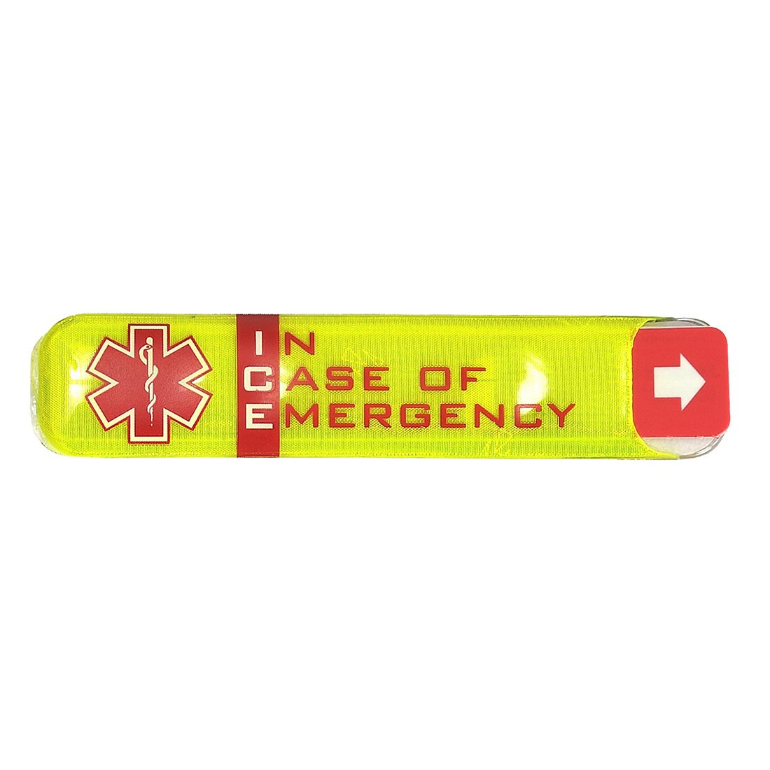 In Case of Emergency (ICE) stickers for accident victims gives on-site instant access to victims potential lifesaving information and enables emergency contacts be quickly notified of the situation 24/7.