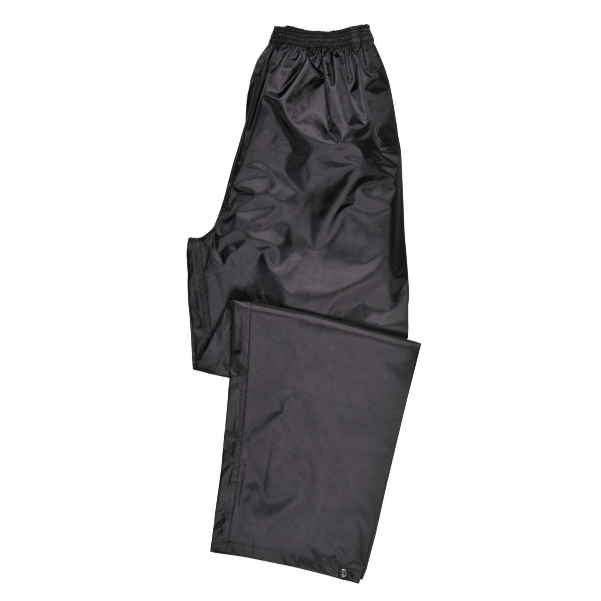 Portwest Lightweight Rain Trousers - S441 Black Small