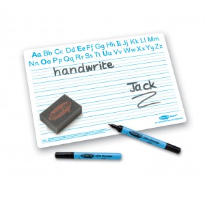 Image for A4 Ruled Handwriting Drywipe Boards