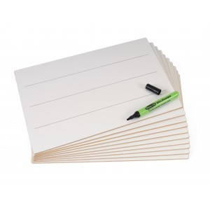 Image for A4 Rigid Lined Drywipe Boards (1)