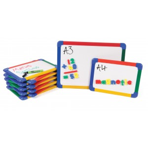Image for A4 Double Sided Magnetic Drywipe Boards