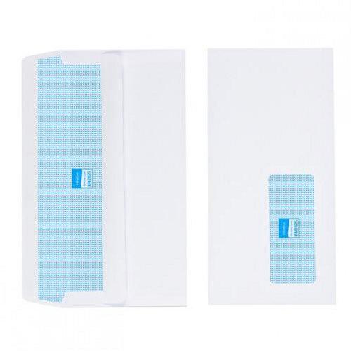 80gsm DL White Window Self Seal Envelope pk 1000
