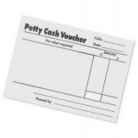 Image for Petty Cash Pads White Pack10