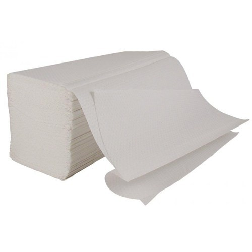 2 Ply White Inter-Fold Towel 3000 Sheets Packed 200 x 15