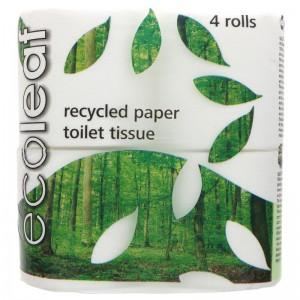 Image for Ecoleaf Toilet Tissue - 10 x 4 pack